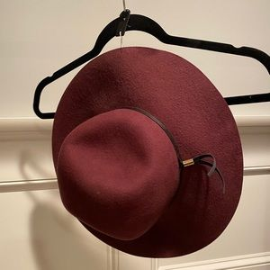 H&M large Maroon hat